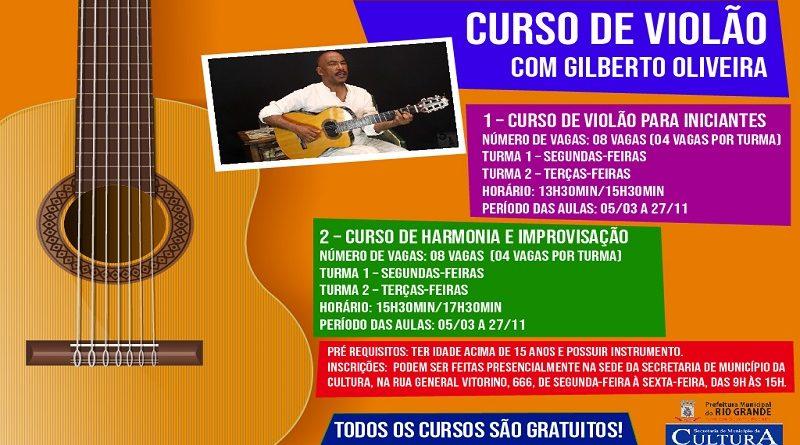 cursos de violão
