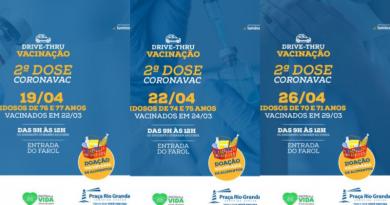 Praça Shopping terá semana intensa de 2ª dose da vacinação