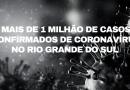 Rio Grande do Sul ultrapassa 1 milhão de casos confirmados de coronavírus
